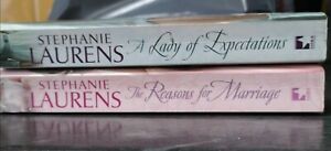 2 Stephanie Laurens Books