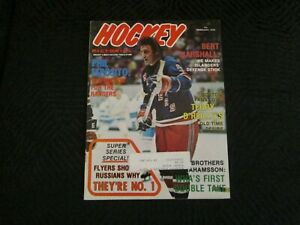 1976  NHL Hockey Pictorial - Phil Esposito Cover -Super Series Special