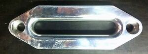 BELLRIGHT WINCH FAIRLEAD POLISHED ALLOY , BULLBAR   ,4x4, 4WD , TWO(2) PACK