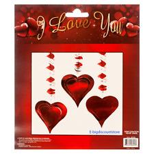 Valentine's Day swirl Hanging love Heart Door Romantic Room Home Wall Decoration