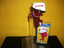 Vtg toy outboard boat motor Honda plastic 75 twin runing old parts great shape.