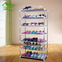Shoe Rack DIY Assembled Plastic Multiple Layers Shelf Storage Stand Holder