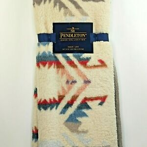 New PENDLETON HOME COLLECTION - Aztec Throw Fleece Blanket 50X70