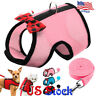 Pet Dogs Cat Mink Rabbits Leash Puppy Harness Chest Strap Adjustable Bowtie Vest