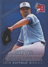 2018 Buffalo Bisons Taylor Guerrieri RC Rookie Toronto Blue Jays