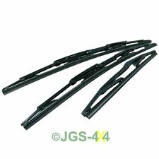 Land Rover Discovery 2 TD5 Wiper Blade Set Front & Rear Windscreen - DKC100960