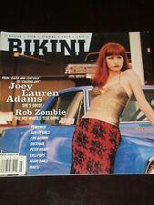 BIKINI magazine 1997, Joey Lauren Adams, Rob White Zombie, Pennywise, lollipops