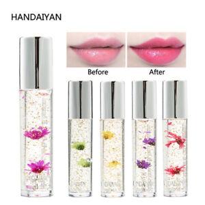 HANDAIYAN Flowers Lipgloss Plumper Lipstick Color Change Lipstick Moisturizer