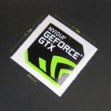 NVIDIA GEFORCE GTX Sticker 17.5mm x 17.5mm