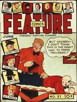 FEATURE COMICS GOLDEN AGE COLLECTION PDF FORMAT ON DVD