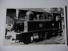 FRA217 CF Dept RESEAU SEINE et MARNE - STEAM TRAIN No84 PHOTO St Leonard France