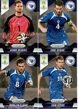 2014 Brasil FIFA World Cup Soccer Prism Card Base Team Set Bosnia-H. (4)