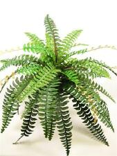 Giant Large Artificial Silk Green Boston Ferns Plant ~ House Plant Flat-Pack