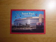 Xcel Energy Center Arena Postcard Minnesota Wild
