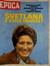 Epoca 882 1967 Dramma della figlia di Stalin. La leggenda di Vittorio Valletta