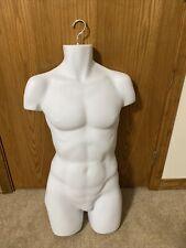 White Hanging Mannequin Torso