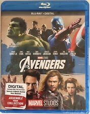 THE AVENGERS ~ Blu-Ray + Digital *New *Factory Sealed