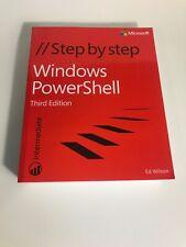 Windows Powershell Step By Step 3rd Edition Ed Wilson