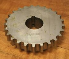 """CWC9-25 Stainless 1-1/4"""" Keyway Bore 25T Sprocket C2Q53P05 - NEW"""