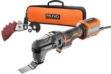 RIDGID Oscillating Multi Tool Universal Variable Multiple Powerful LED Light