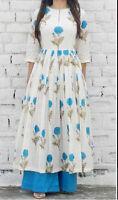 Indian Pakistani Bollywood Kurta Kurti Designer Women Ethnic Dress Top Tunic