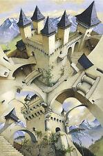 POSTER Castle of Illusion Irvine Peacock