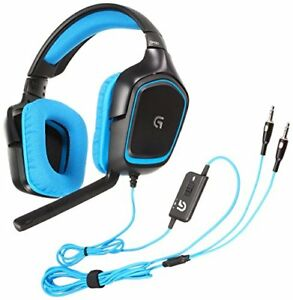 Gaming Headset Logitech G430 Dolby 7.1 surround Windows support