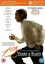 12 Years A Slave (2013) DVD. New .Factory Seal. UK Region 2. Ejiofor, Fassbender
