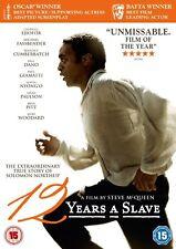 12 Years A Slave (2013) DVD. New & Sealed. UK Region 2. Ejiofor, Fassbender