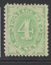 AUSTRALIA SGD26 1903 4d EMERALD-GREEN POSTAGE DUE MTD MINT