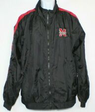 Nebraska Huskers  Adidas  Vintage Retro windbreaker Jacket size XL NCAA Football
