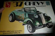 AMT 1937 Chevy Cabriolet 3N1 STREET RODS T141 1/25 Model Car Mountain COMPLETE