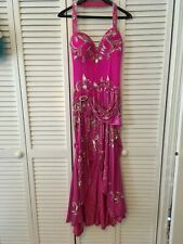 OOAK Pre-owned Hot Pink Bellydance Dress/Costume