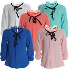 Markenlose Langarm Mädchen-Tops, - T-Shirts & -Blusen mit Größe 98