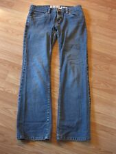 Womens Size 6 Old Navy Ultra Low Waist Boot Cut Stretch Denim Jeans 30 x 28.5