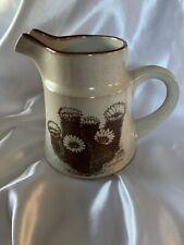 Noritake Stoneware Desert Flowers Creamer 8341 Hedgehog Cactus