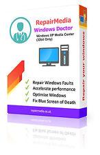 Windows XP Media Center Dottore RECUPERO dati riparazione reinstallare il software DVD 32bit
