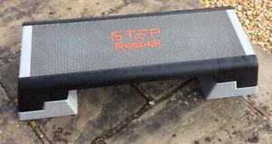 Reebok Step adjustable aerobic cardio / body pump training deck