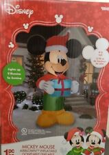 MICKEY MOUSE DISNEY 9 FOOT INFLATABLE CHRISTMAS BLOWUP LIGHTED INFLATABlLE