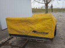 Snowbear Heavy Canvas Tarp 4x8 Utility/Snowmobile Trailer Tarp