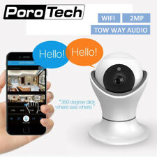 360 degree Rotation PTZ Wifi IP Camera 1080P Wireless Network Home Security CCTV