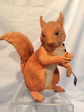 """Country Artists Red Squirrel Alert Figurine 7"""" Resin item #03971 $58.99"""