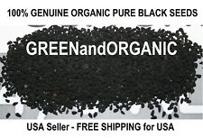 GENUINE 4 oz Amazing WHOLE BLACK CUMIN SEED ORGANIC Herbs NIGELLA SATIVA 1/4 Lb