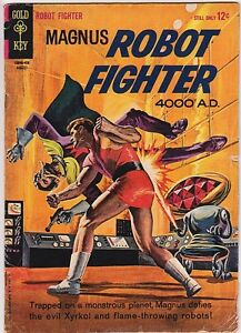 MAGNUS, Robot Fighter 4000 AD no. 7 by Russ Manning