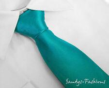 TOP e CONVENIENTE : Cravatta cravatta cravatta Turchese Verde PETROLIO