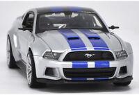Maisto 1:24 Ford MUSTANG GT 2014 véhicules en alliage ModelCar Toys cadeau