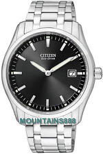 CITIZEN Eco-DriveWatch,LowChargeIndicator,StainlessSteel,WR,Date,Mens,AU1040-59E