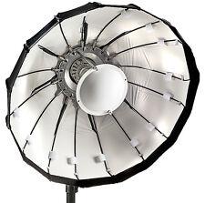60cm Folding beauty dish, white, Lencarta/Bowens fitting