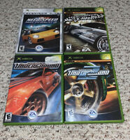 Need for Speed: Underground 1 & 2/Hot Pursuit/Most Wanted Xbox Original Lot