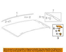 TOYOTA OEM 16-18 Prius Roof-Finish Molding Left 7505647010